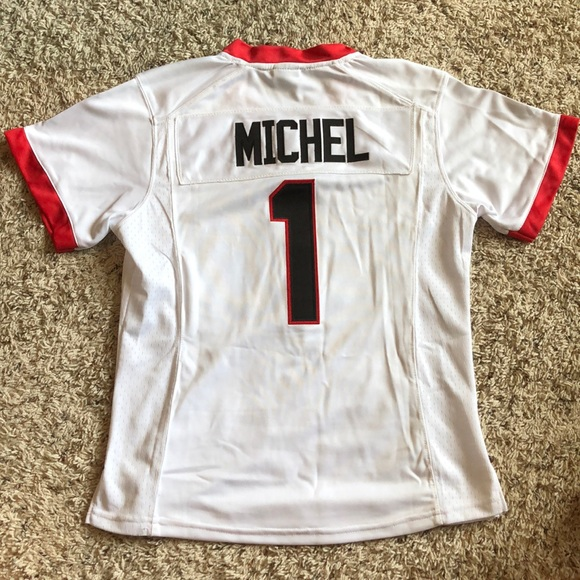 hot sale online 0f510 0f1ad BRAND NEW UGA Sony Michel Jersey - Women's M NWT